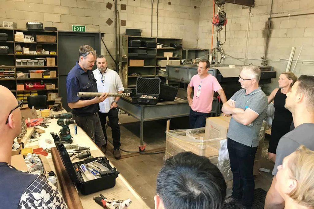 Factory Tour Drill Jig Talk