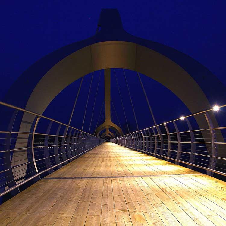 Sölvesborg Bridge handrail