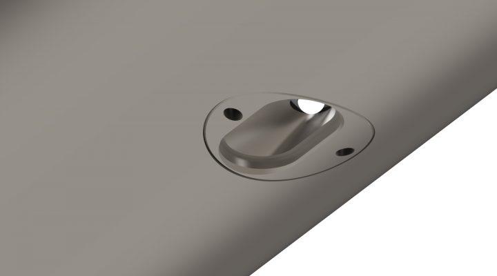 LED Puck Aperture Asymmetric