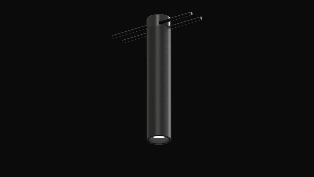 LED Puck AIR catenary luminaire
