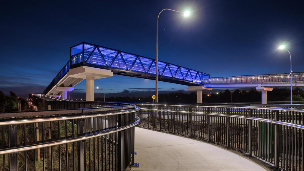 SH36 Tauranga Pedestrian Overbridge
