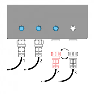 instructions for a lighting cabinet