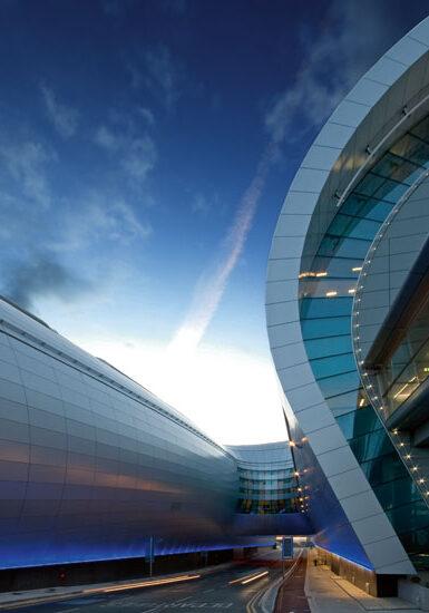 Dublin Airport Facade 2