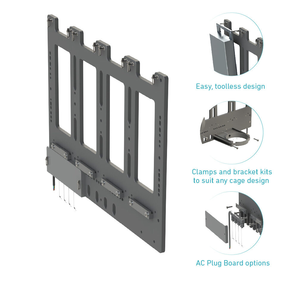 Uno Panel's features minimise gear hassle downtime